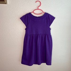 Gap Kids Purple XS Short Sleeve Dress